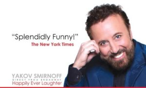 Yakov Smirnoff's Happily Ever Laughter @ Merryman Performing Arts Center
